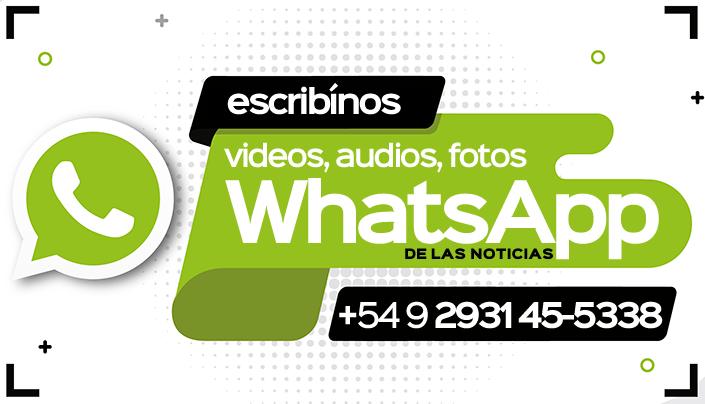 Envía un mensaje a Río Colorado Informa por WhatsApp.