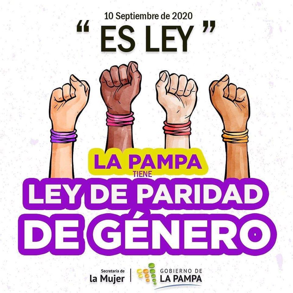 """Photo of """"Una conquista histórica"""" – La Pampa tiene Ley de Paridad de Género"""