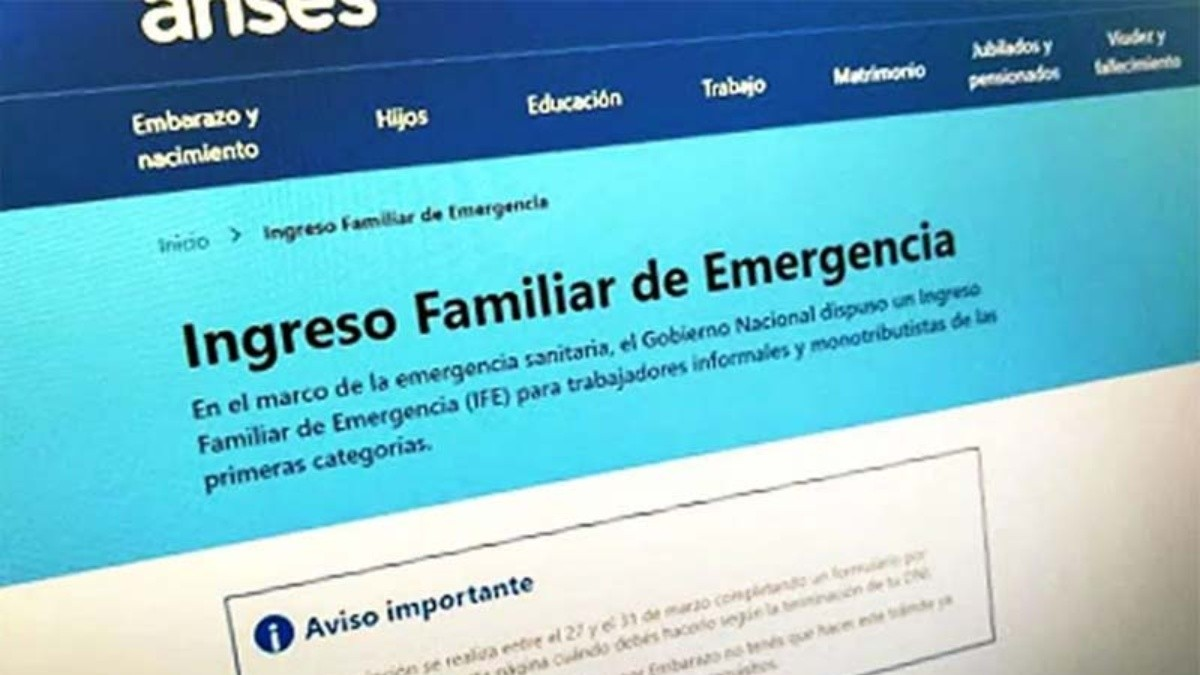 Photo of Hoy cobran el IFE los que informaron CBU y sus DNI terminan en 9