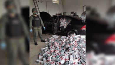 Photo of Gendarmería Nacional incautó más de 2.150.000 pesos en cigarrillos de contrabando