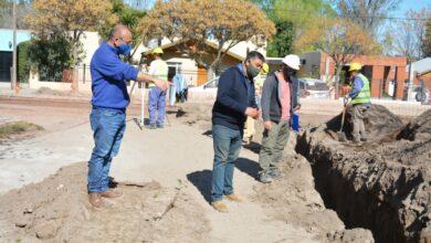 Photo of El intendente Barrionuevo recorrió obras de la localidad