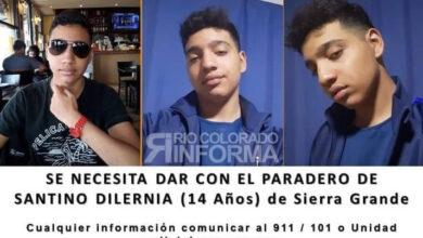 Photo of Desesperada búsqueda de un adolescente de Sierra Grande