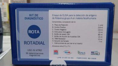 Photo of Donan al Malbrán kits para 5 mil detecciones de rotavirus