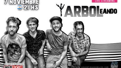 Photo of Árbol se presenta por primera vez con su show ARBOLEANDO
