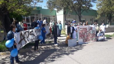 Photo of Protesta permanente en los Hospitales de Río Negro