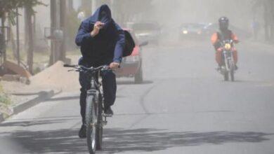 Photo of Alerta meteorológico por intensos vientos